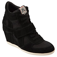 Buy Ash Bowie Suede Wedge Trainers Online at johnlewis.com