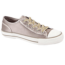 Buy Ash Viper Satin Trainers, Taupe Online at johnlewis.com