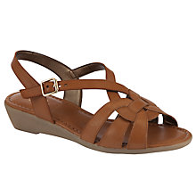 Buy John Lewis Designed for Comfort Hawk Sandals, Brown Online at johnlewis.com
