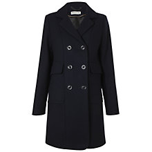 Buy Whistles Military Peacoat, Navy Online at johnlewis.com