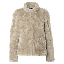 Buy White Stuff Bordello Faux Fur Jacket, Neutral Online at johnlewis.com