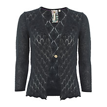 Buy White Stuff Claudine Cardigan, Teal Online at johnlewis.com