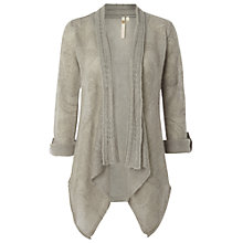 Buy White Stuff Supreme Waterfall Cardigan, Dusty Grey Online at johnlewis.com