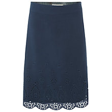 Buy White Stuff  Chiyo Skirt, Deep Teal Online at johnlewis.com