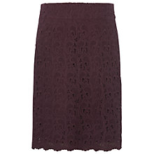 Buy White Stuff Audrey Skirt, Dark Pintoage Online at johnlewis.com