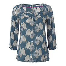 Buy White Stuff Natsuki Top, Deep Teal Online at johnlewis.com