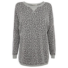Buy Oasis Animal Print Sweatshirt Online at johnlewis.com