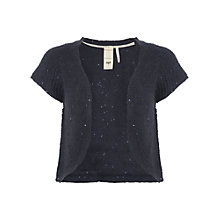 Buy White Stuff Sequin Knit Bolero, Navy Online at johnlewis.com