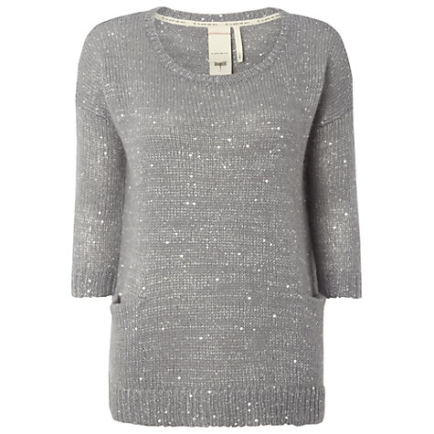 Buy White Stuff New Sparkle Knit Jumper Online at johnlewis.com