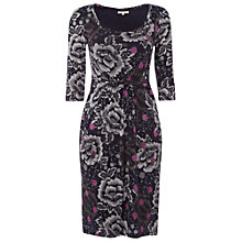 Buy White Stuff Esme Dress, Navy Online at johnlewis.com