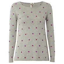Buy White Stuff Starry Knit, Dusty Grey Online at johnlewis.com