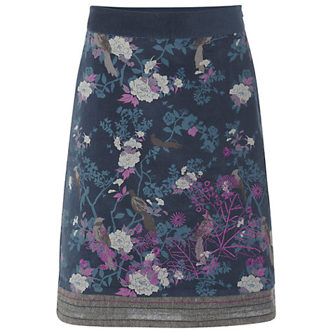 Buy White Stuff Shaolin Skirt, Teal green Online at johnlewis.com