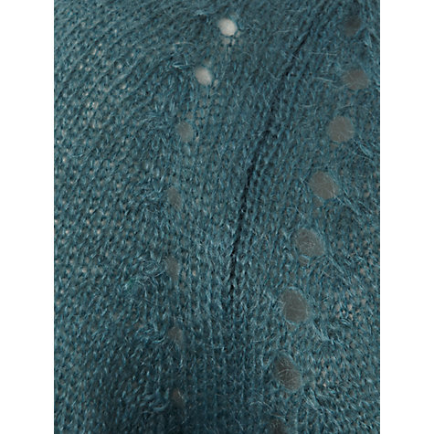 Buy White Stuff Russe Wrap Cardigan, Teal Online at johnlewis.com