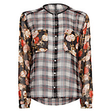 Buy Mango Combination Print Chiffon Blouse Online at johnlewis.com
