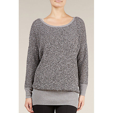 Buy Planet Bubble Knit Jumper, Silver Online at johnlewis.com