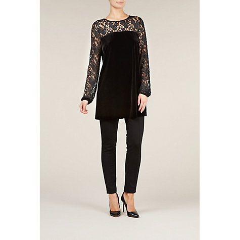 Buy Planet Lace and Velvet Tunic Online at johnlewis.com