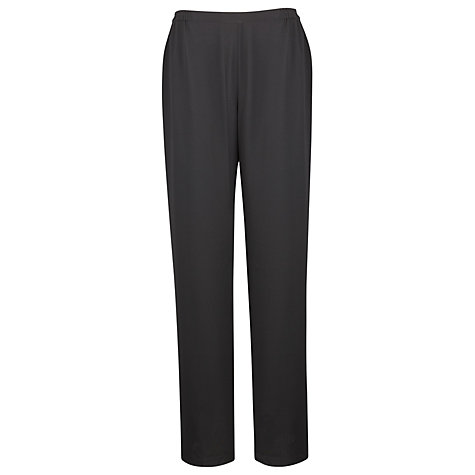 Buy Jacques Vert Chiffon Trousers, Black Online at johnlewis.com