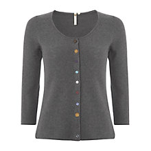 Buy White Stuff Plain Cardigan, Coal Online at johnlewis.com