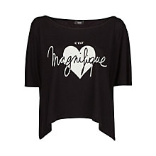 Buy Mango Magnifique Modal T-shirt Online at johnlewis.com