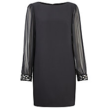 Buy Planet Jewel Cuff Tunic, Black Online at johnlewis.com