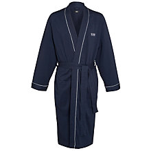 Buy BOSS Kimono Robe, Navy Online at johnlewis.com