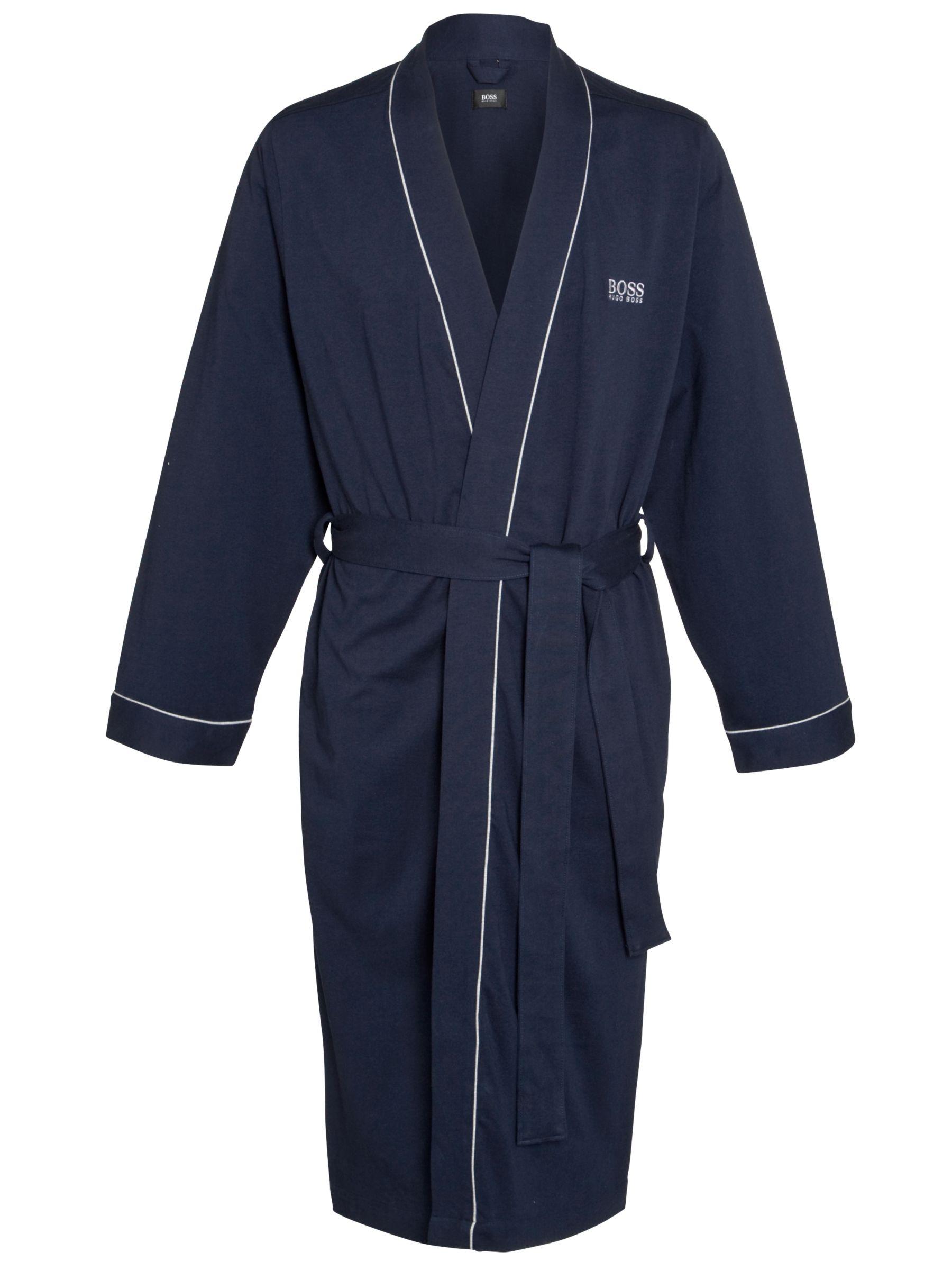 Hugo Boss Kimono Robe, Navy