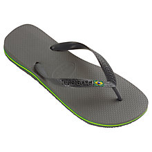 Buy Havaiana Brasil Flip Flops Online at johnlewis.com