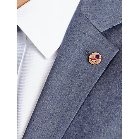 Buy Paul Costelloe Airforce Suit Jacket, Pale Blue Online at johnlewis.com