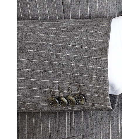 Buy Paul Costelloe Soft Stripe Suit Jacket, Grey Online at johnlewis.com