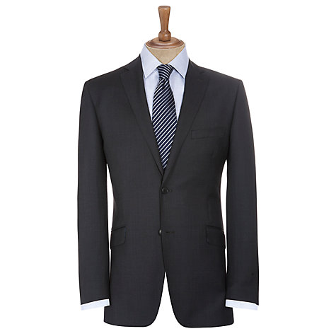 Buy Daniel Hechter Birdseye Suit Jacket, Pewter Online at johnlewis.com