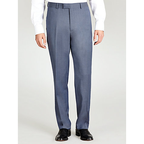 Buy Paul Costelloe Plain Suit Trousers, Pale Blue Online at johnlewis.com