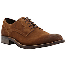Buy Dune Belsit Suede Derby Shoes, Taupe Online at johnlewis.com