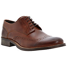 Buy Dune Bellair Brogue Derby Shoes, Tan Online at johnlewis.com