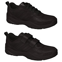 Buy Adidas LK Play Trainers, Black Online at johnlewis.com