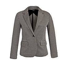 Buy Weekend by MaxMara Zigzag Jacket, Black Online at johnlewis.com