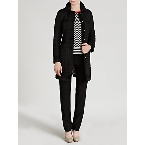Buy Weekend by MaxMara Long Down Coat, Black Online at johnlewis.com