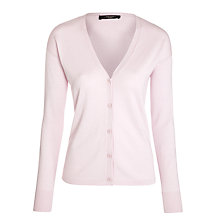Buy Weekend by MaxMara Knitted Silk Cardigan, Powder Online at johnlewis.com