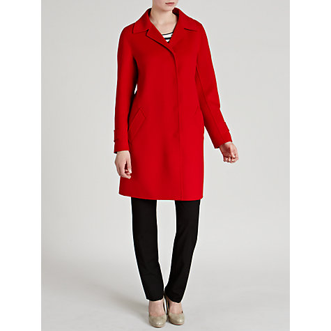 Buy Weekend by MaxMara Double Face Wool Coat, Red Online at johnlewis.com