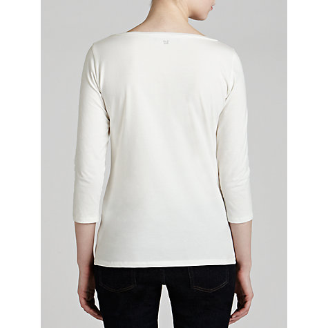 Buy Weekend by MaxMara Basic T-Shirt, White Online at johnlewis.com