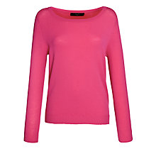 Buy Weekend by MaxMara Tamaro Knit Sweater, Pink Online at johnlewis.com