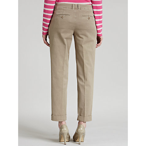 Buy Weekend by MaxMara Trousers, Beige Online at johnlewis.com