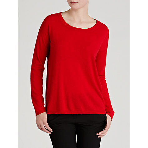 Buy Weekend by MaxMara Wool Cashmere Jumper, Red Online at johnlewis.com