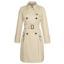 Buy Weekend by MaxMara Trench Coat, Beige Online at johnlewis.com