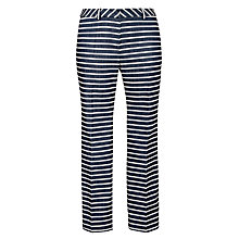 Buy Weekend by MaxMara Striped Trousers, Navy Online at johnlewis.com