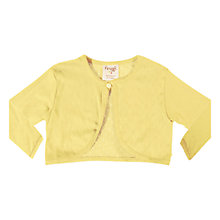 Buy Frugi Pointelle Cardigan, Yellow Online at johnlewis.com