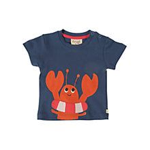 Buy Frugi Short Sleeve Lobster T-Shirt, Navy Online at johnlewis.com