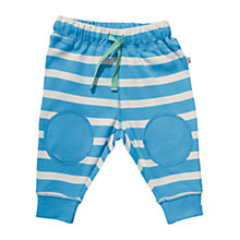 Buy Frugi Knee Patch Crawlers, Blue Online at johnlewis.com