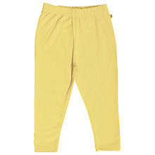 Buy Frugi Sunshine Leggings, Yellow Online at johnlewis.com