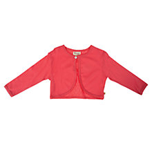Buy Frugi Pointelle Cardigan, Red Online at johnlewis.com