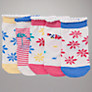 Buy John Lewis Bird and Flower Socks, Pack of 5, Multi Online at johnlewis.com